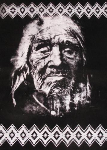 Tapiz/ Longko Keipul / Serigrafía Textil /